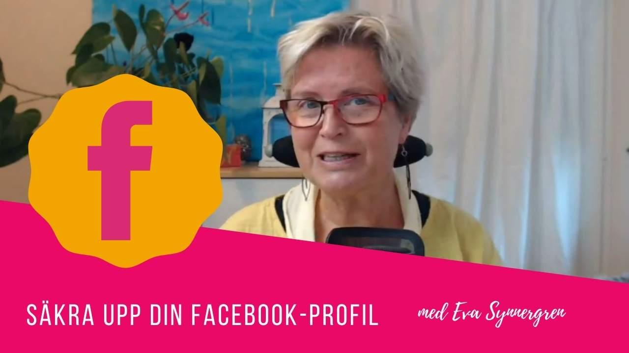 Säker profil på Facebook