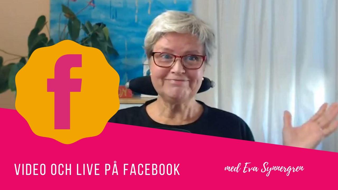 Video och live pa facebook